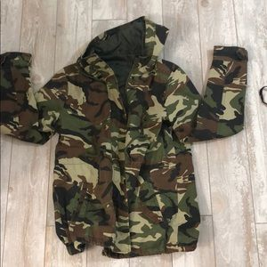 Super cute size medium army jacket